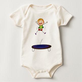 trampoline kid baby bodysuit