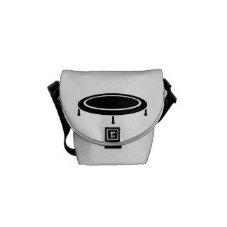 Trampoline Messenger Bag