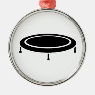 Trampoline Metal Ornament