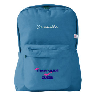 Trampoline Queen American Apparel™ Backpack