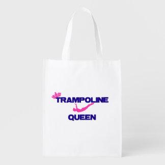 Trampoline Queen Reusable Grocery Bag