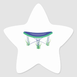 Trampoline Star Sticker