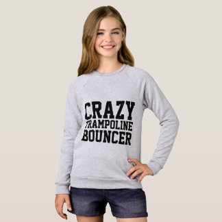 TRAMPOLINE T-shirts for Kids, CRAZY BOUNCER