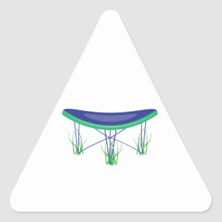 Trampoline Triangle Sticker