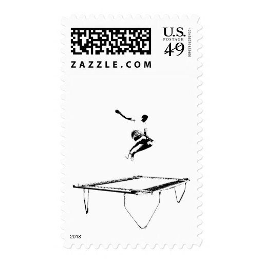 Trampoline Vertical Stamp