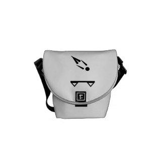 Trampolining Messenger Bag