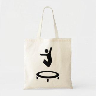 Trampolinist Tote Bag