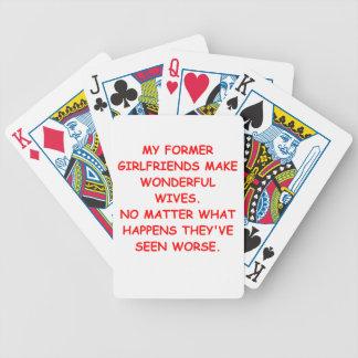 tramposo barajas de cartas
