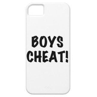 Tramposo de los muchachos iPhone 5 carcasa