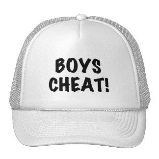 Tramposo de los muchachos gorra