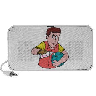 Tramposo del tramposo iPod altavoces