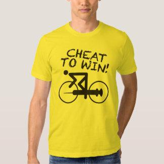 Tramposo para ganar - la camisa amarilla de la