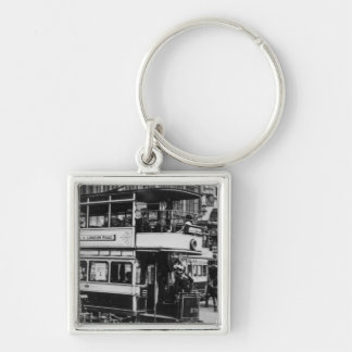 Trams in Manchester, c.1900 Key Chains