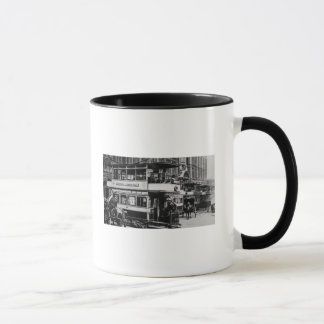 Trams in Manchester, c.1900 Mug