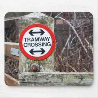 Tramway Crossing Mousepad