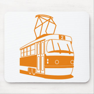 Tramway transportation electric mouse pad