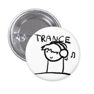 Trance 1 Inch Round Button