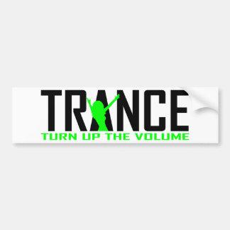 Trance Dancer design Bumper Sticker