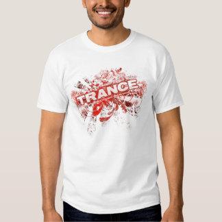 Trance EDM Red Tshirts