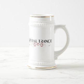 Trance espiral jarra de cerveza