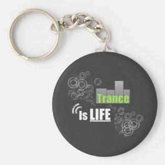 Trance Is Life Keychain