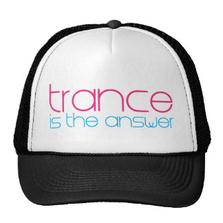 Trance Is The Answer Cap