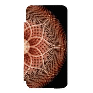 Trance Lotus Mandala iPhone SE/5/5s Wallet Case