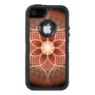 Trance Lotus Mandala OtterBox Defender iPhone Case