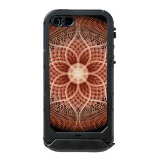 Trance Lotus Mandala Waterproof iPhone SE/5/5s Case