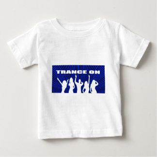 Trance on rave design baby T-Shirt