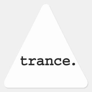 trance. triangle sticker