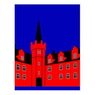 Tranekaer Palace Postcard