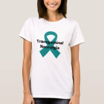 Trangeminal Neuralgia TN Teal Ribbon T-Shirt