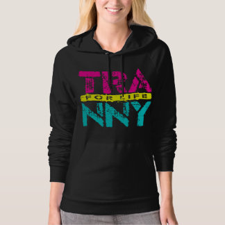 TRANNY For Life - Reliable Car Transmissions, Neon Hooded Sweatshirts