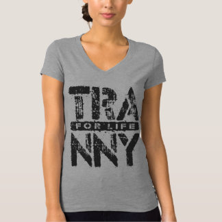 TRANNY For Life - Reliable Car Transmissions, Onyx T-Shirt