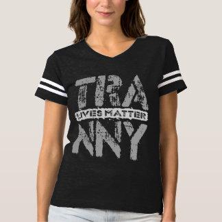 TRANNY Lives Matter - Auto Transmission Care, Gray T-shirt