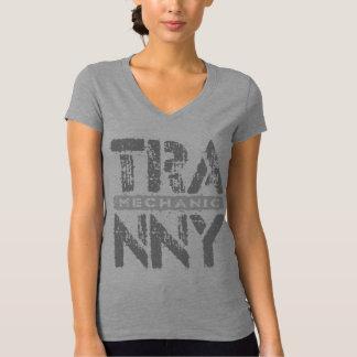 TRANNY Mechanic - Love Rebuilt Transmissions, Gray T-Shirt