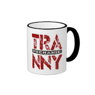 TRANNY Mechanic - Love Rebuilt Transmissions, Red Ringer Mug