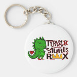 Tranny Saurus Rex Key Chains