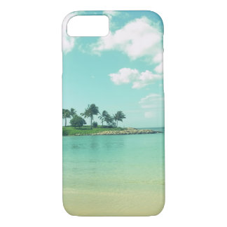 Tranquil and Serene Turquoise Beach in Hawaii iPhone 8/7 Case