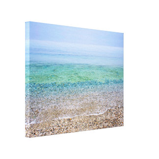 Tranquil Beach Gallery Wrap Canvas
