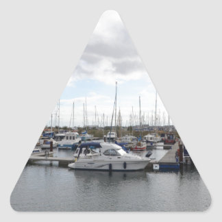 Tranquil Berths Triangle Sticker