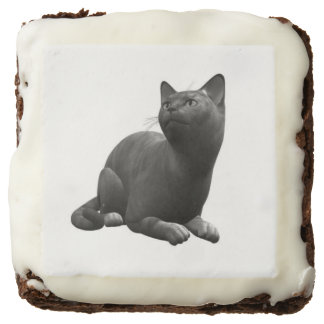 Tranquil Black Cat Brownies