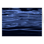 Tranquil Blue Water Greeting Card