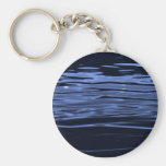 Tranquil Blue Water Key Chains