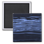 Tranquil Blue Water Refrigerator Magnet