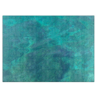 Tranquil Blue Waters Cutting Board