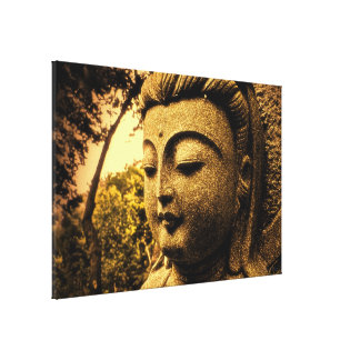Tranquil Buddha Wrapped Canvas