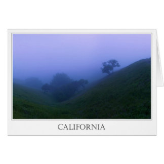 Tranquil California Evening Card