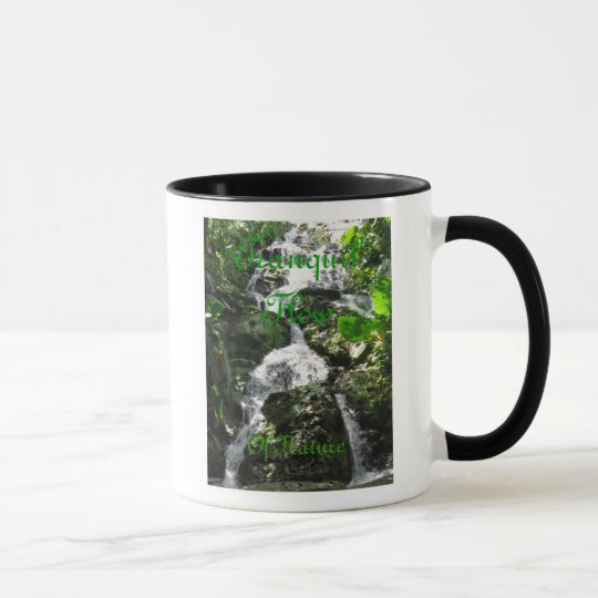 Tranquil Flow Of Nature Mug
